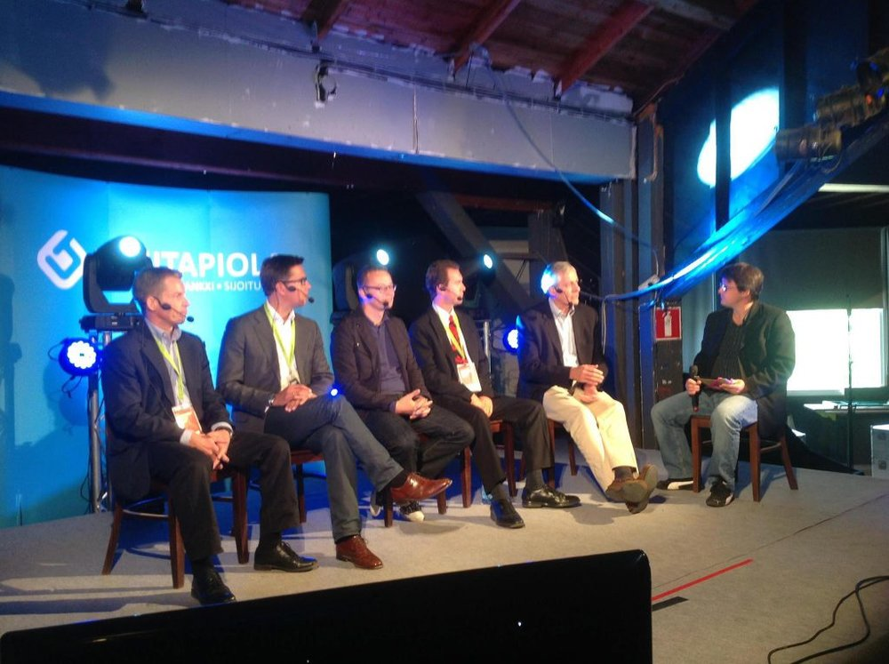Hosting a panel with Bill Reichert at Midnight Pitch Fest