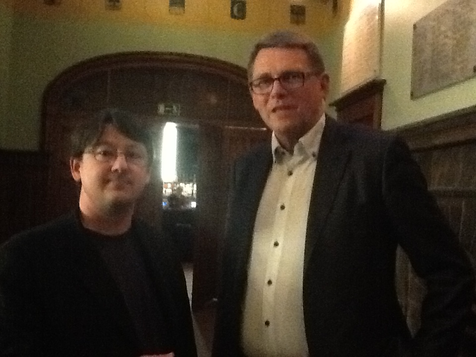 With the former Prime Minister of Finland Matti Vanhanen