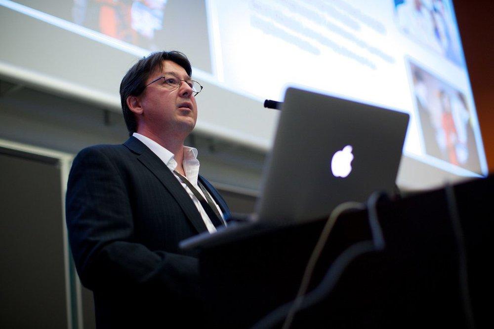 Speaking at Crowdsourcing Week Europe 2014 in Denmark