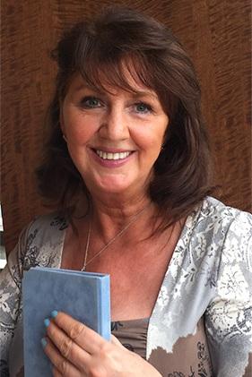 My most recent photo of my mum.