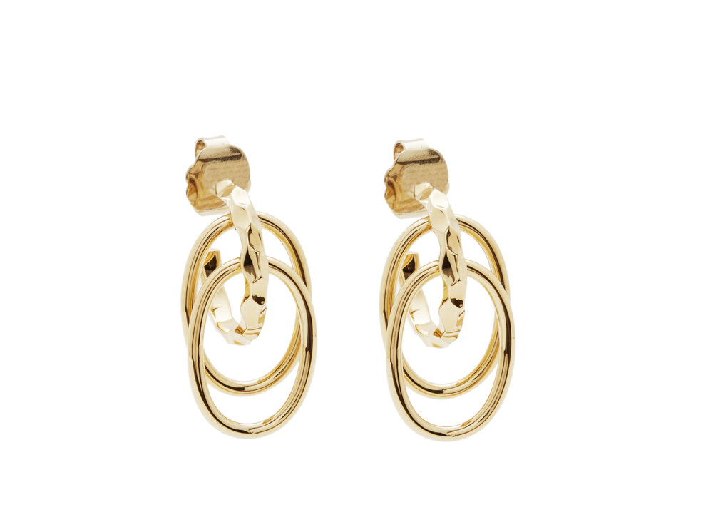 WAVES TRIPLE HOOP MINI EARRINGS 1gold.jpg