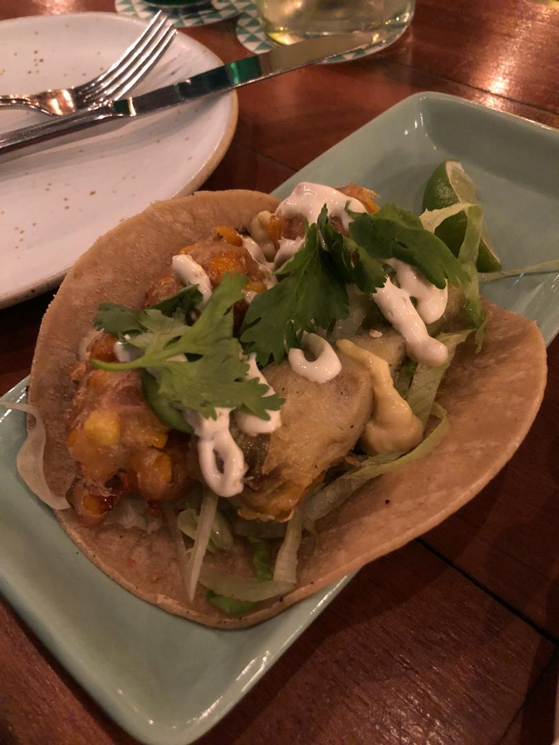 Tacos from Lucha Loco Duxton Hill, Singapore