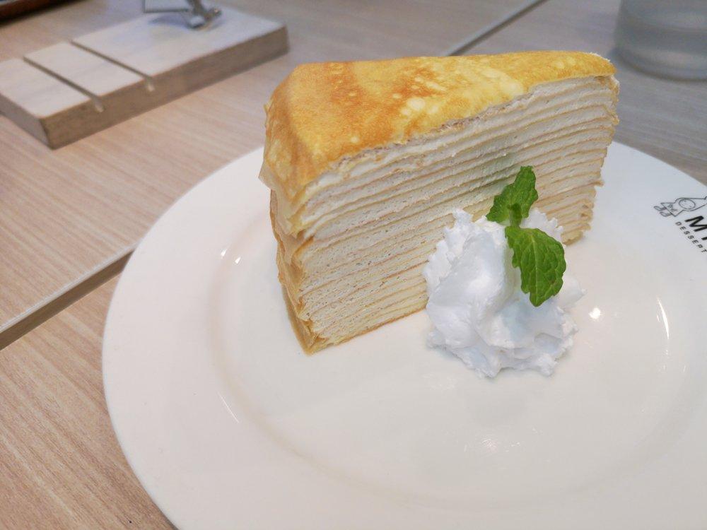 Miru Dessert Cafe Mille Crepe