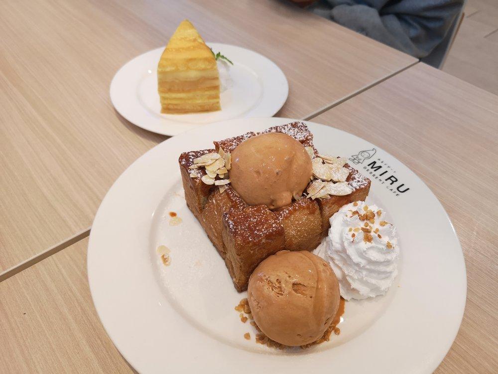 Miru Dessert Cafe Desserts