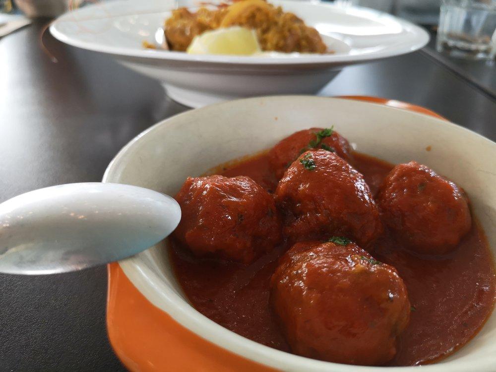 Marta's Kitchen Tapas (Tomato Meatballs)