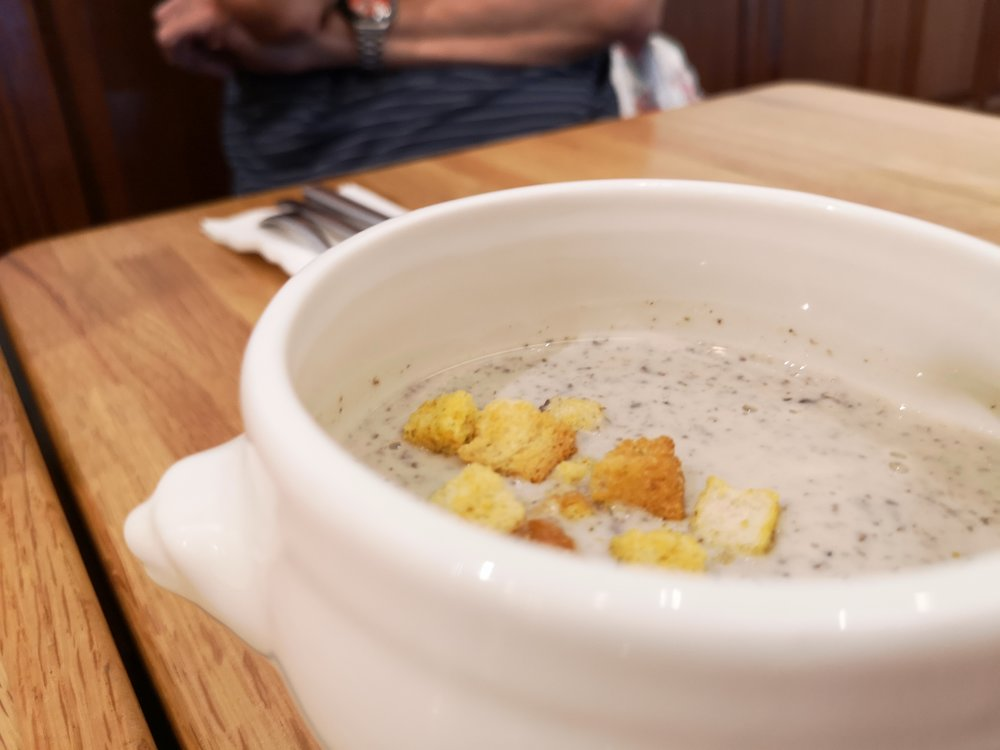 Saveur Purvis Street Mushroom Soup French