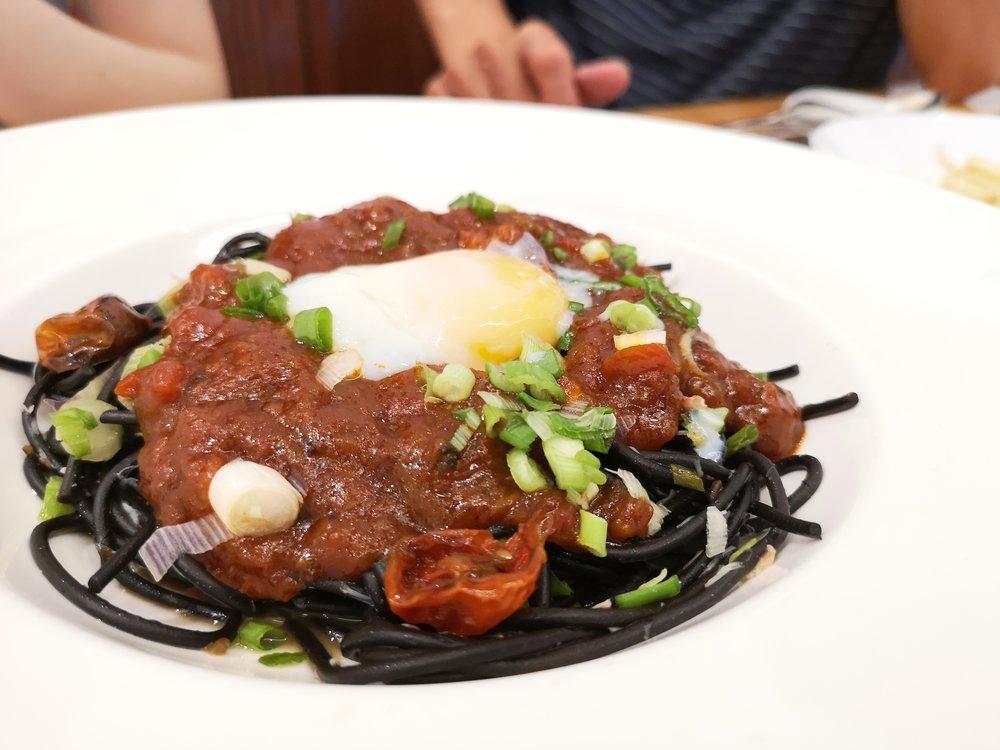Chilli Crab Pasta Saveur Singapore