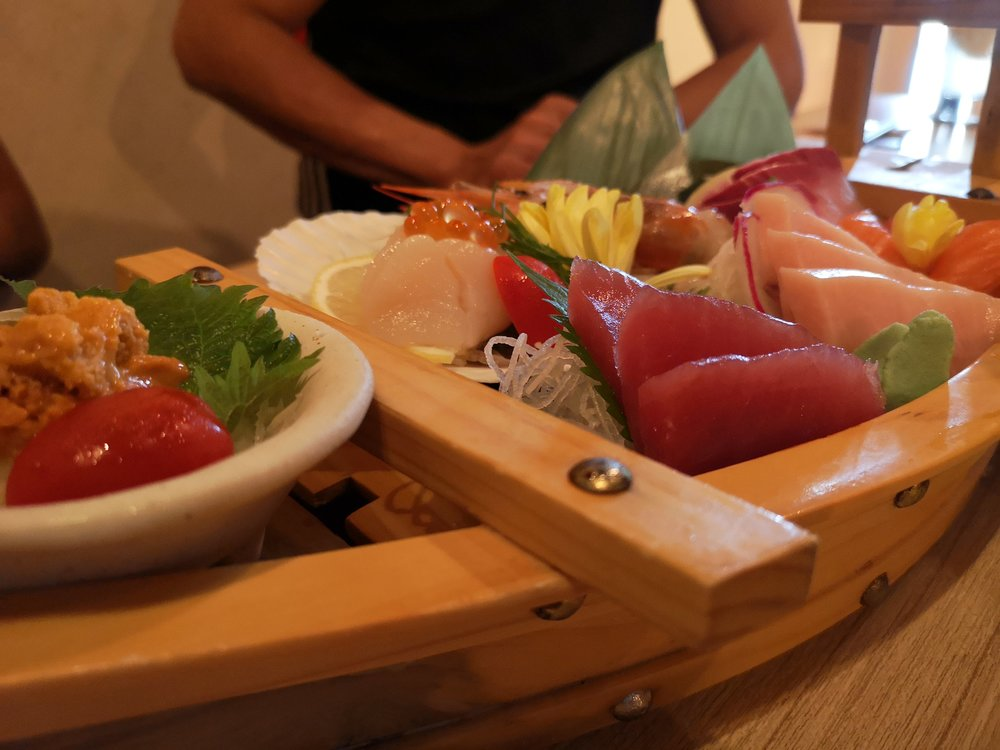Sashimi Platter Tsukiji Fish Market Orchard Central