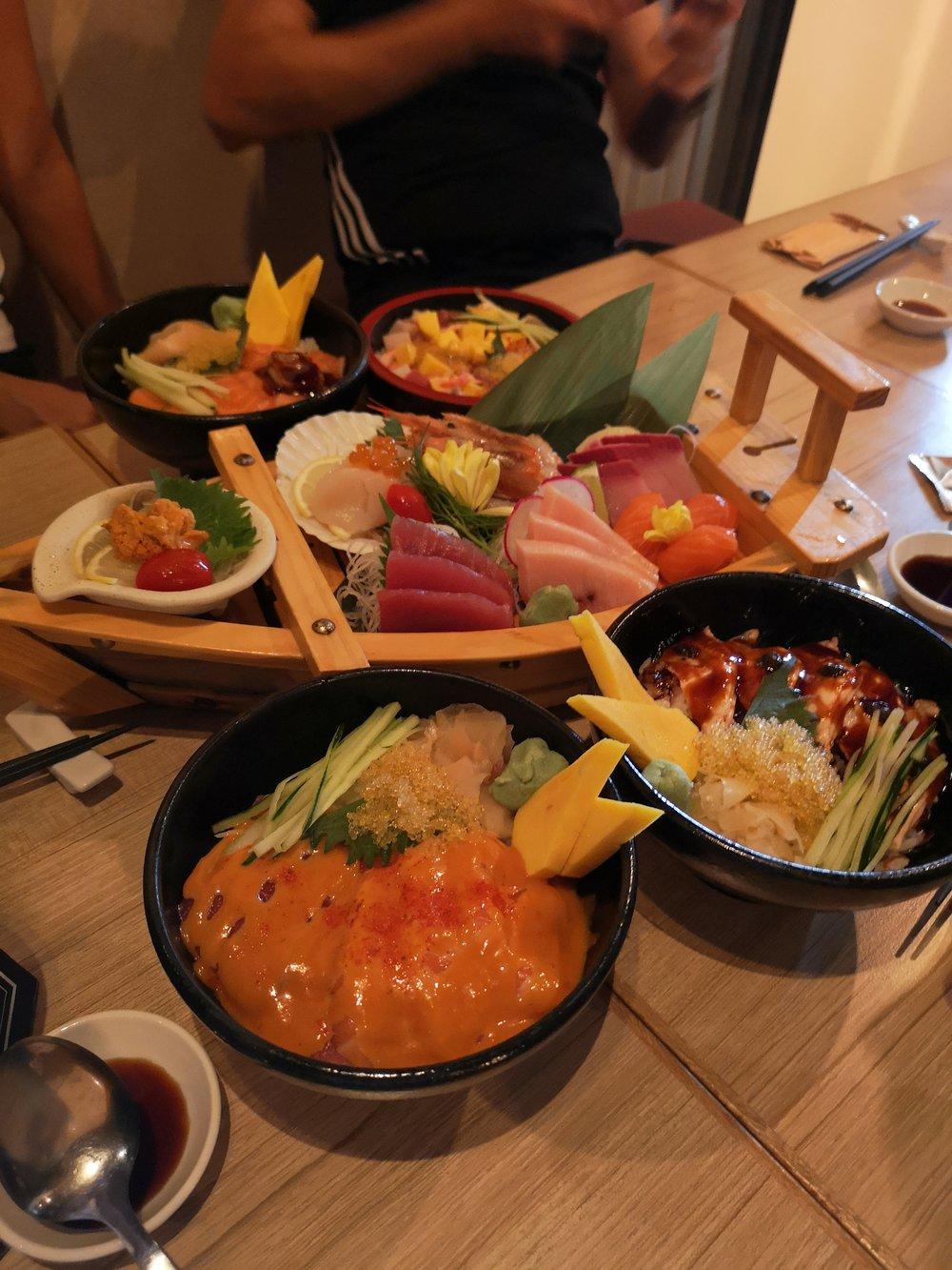Tsukiji Fish Market Platter