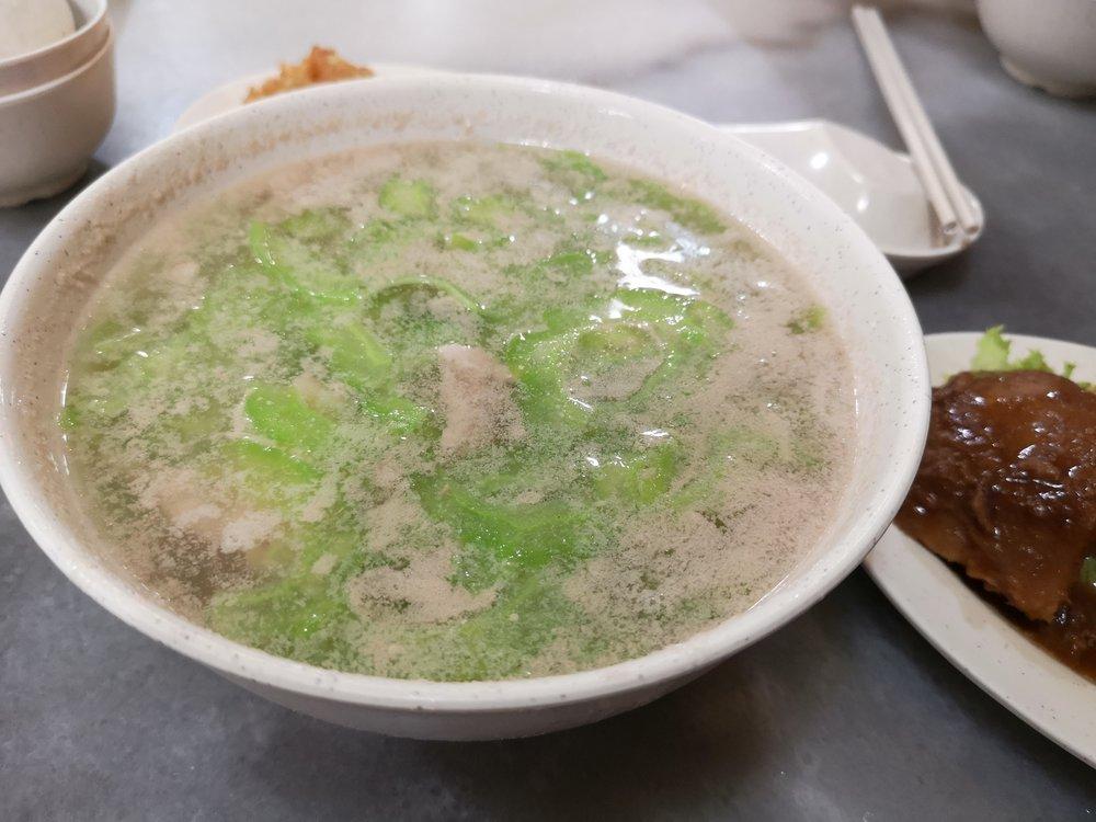 Kah Kah Loke Bittergourd Soup