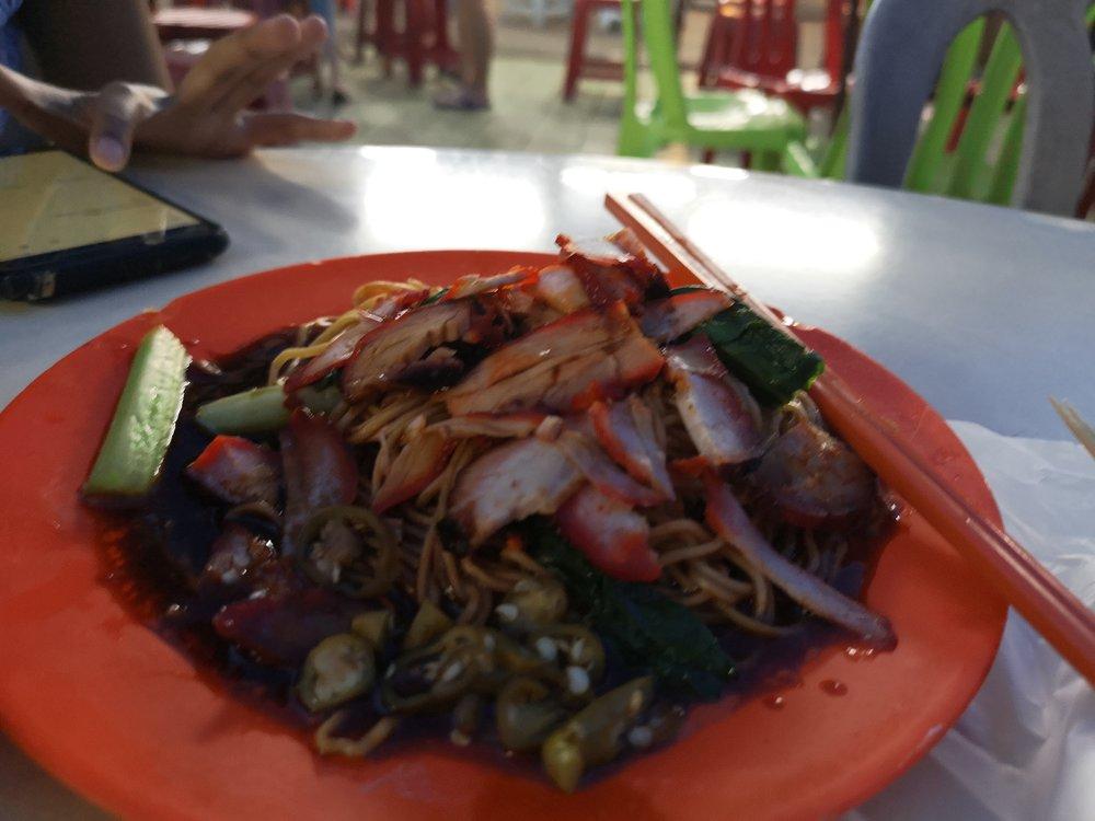 Wantan Mee from Hai Kee Hawker Center Batu Pahat