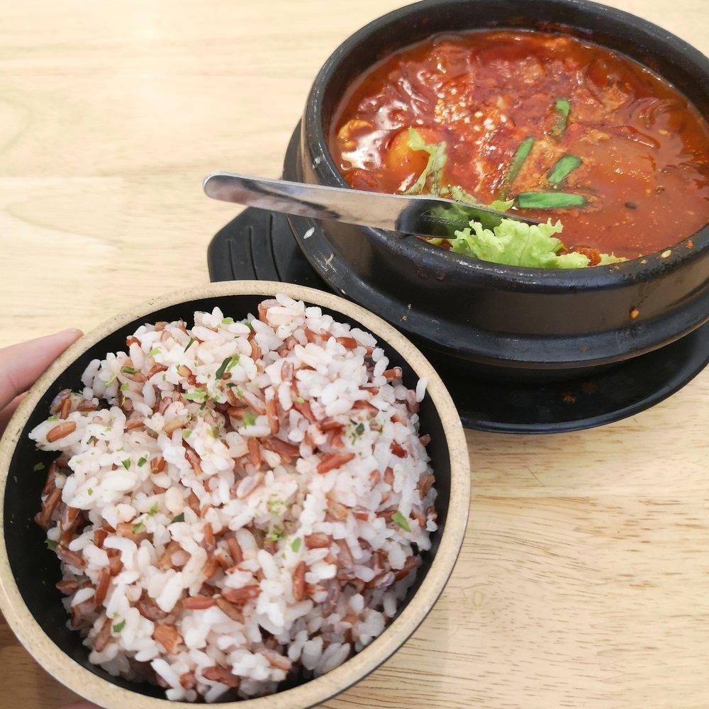 Dae Bap Kimchi Jigae Pork