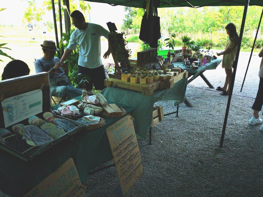 Edible Park Stalls