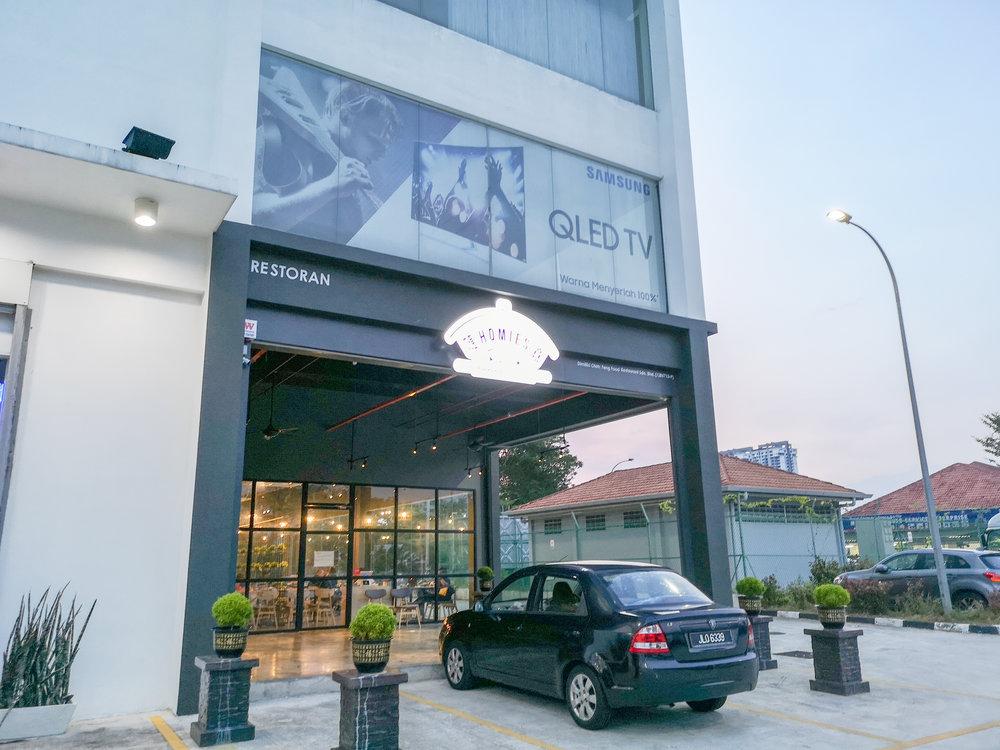 Homies Restaurant Bukit Indah