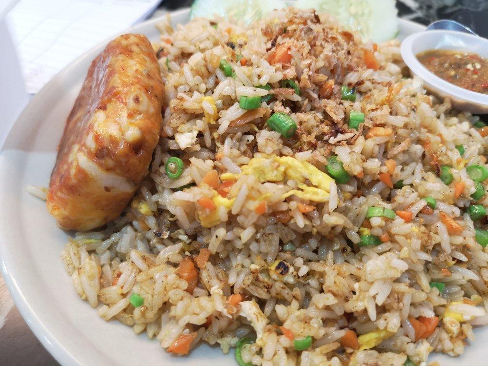 Toast & Coffee Otak Otak Fried Rice
