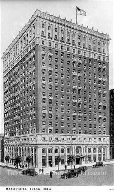 Photo Courtesy of The Tulsa Historical Society and Museum. Nina Dunn 1925.