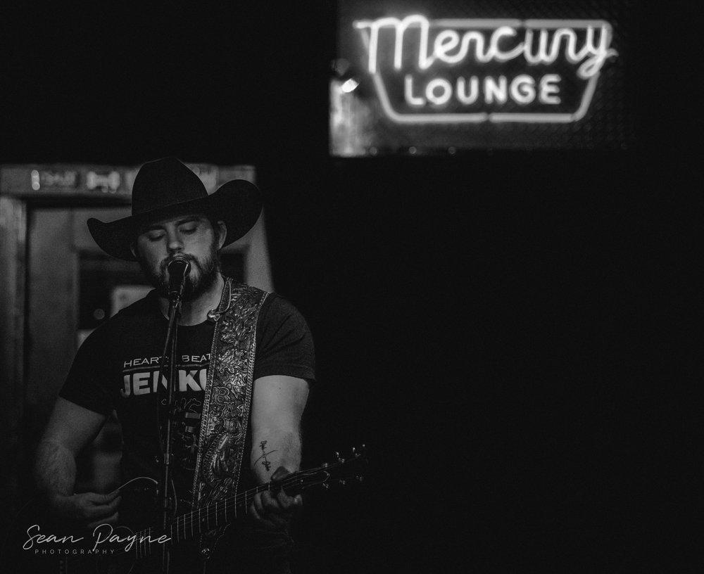 Bryce Dicus & The Mercenaries live from The Mercury Lounge Tulsa. 1/18/19