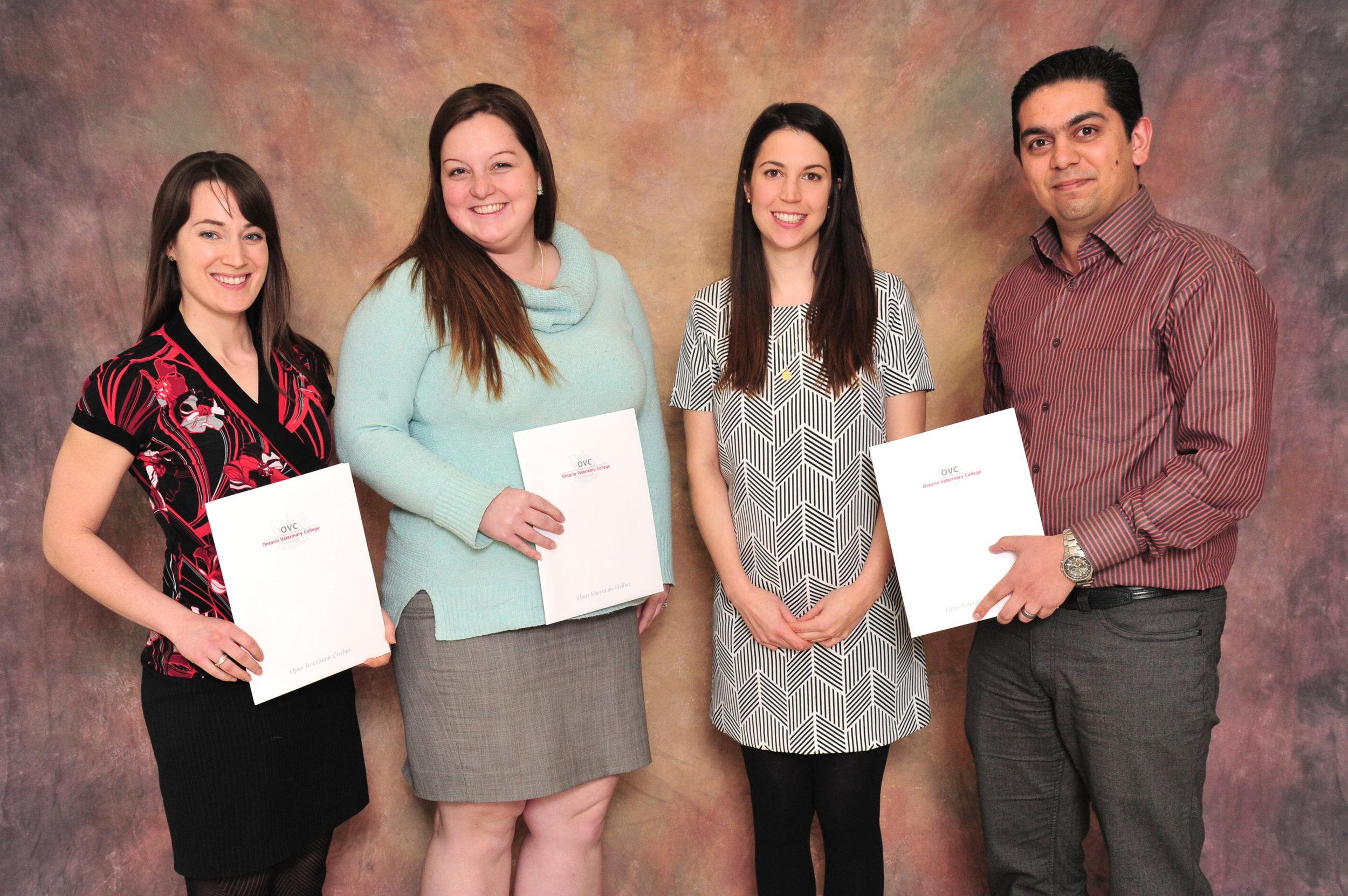 OVC Grad Student Recog