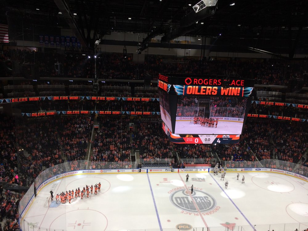 Edmonton Oilers Hockey Game