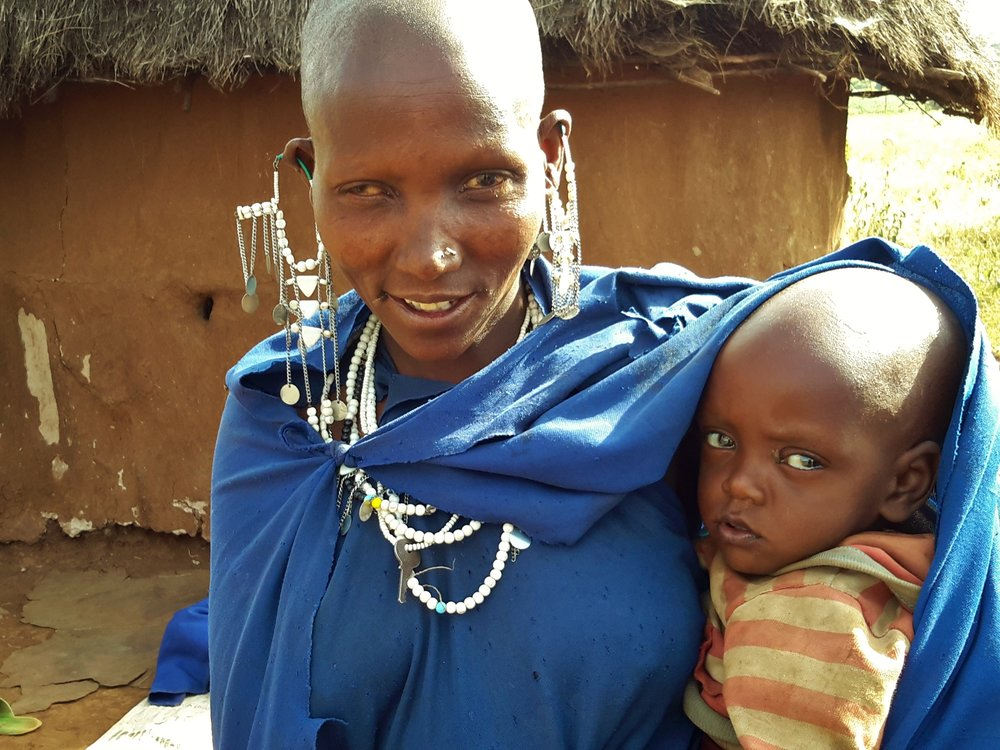 Three days after the eye procedure at KCMC, Nongota opened her eyes to a new world
