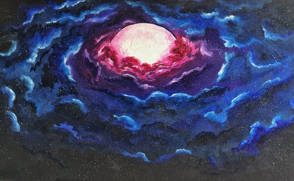 The Birth of a Planet - SOLD