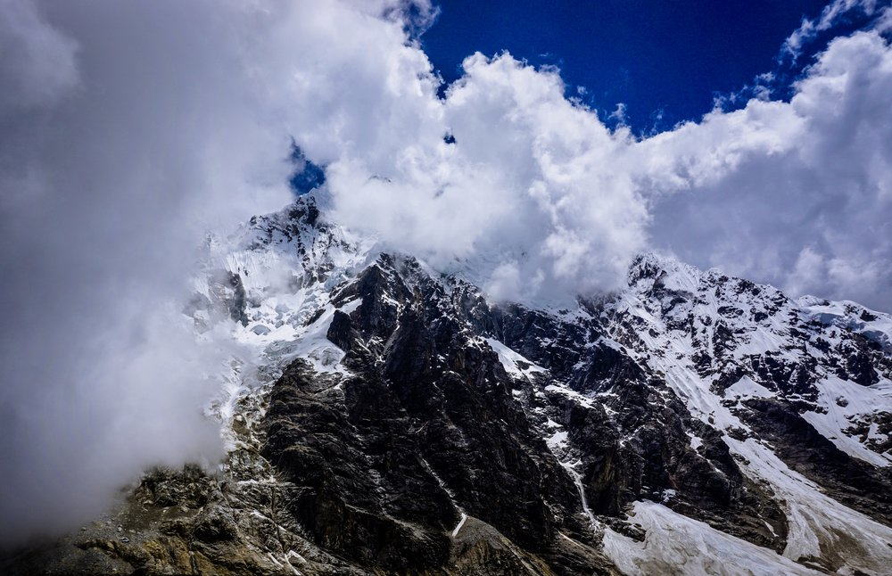 Andes Avalanche - Prints Available in Shop