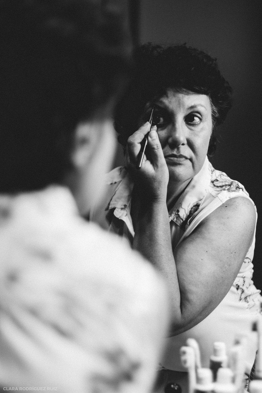"""Mi madre nunca se había maquillado tanto. Gracias a estos """"polvos mágicos"""" se veía guapa y le hacía sentir bien. Cogía la fortaleza mental suficiente (e importantísima) para sobrellevar el cáncer."""
