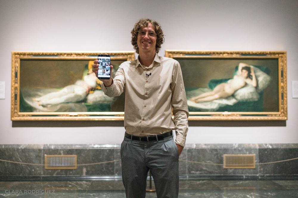 Javier Sainz de los Terreros, la única persona que te enseña el Prado a solas