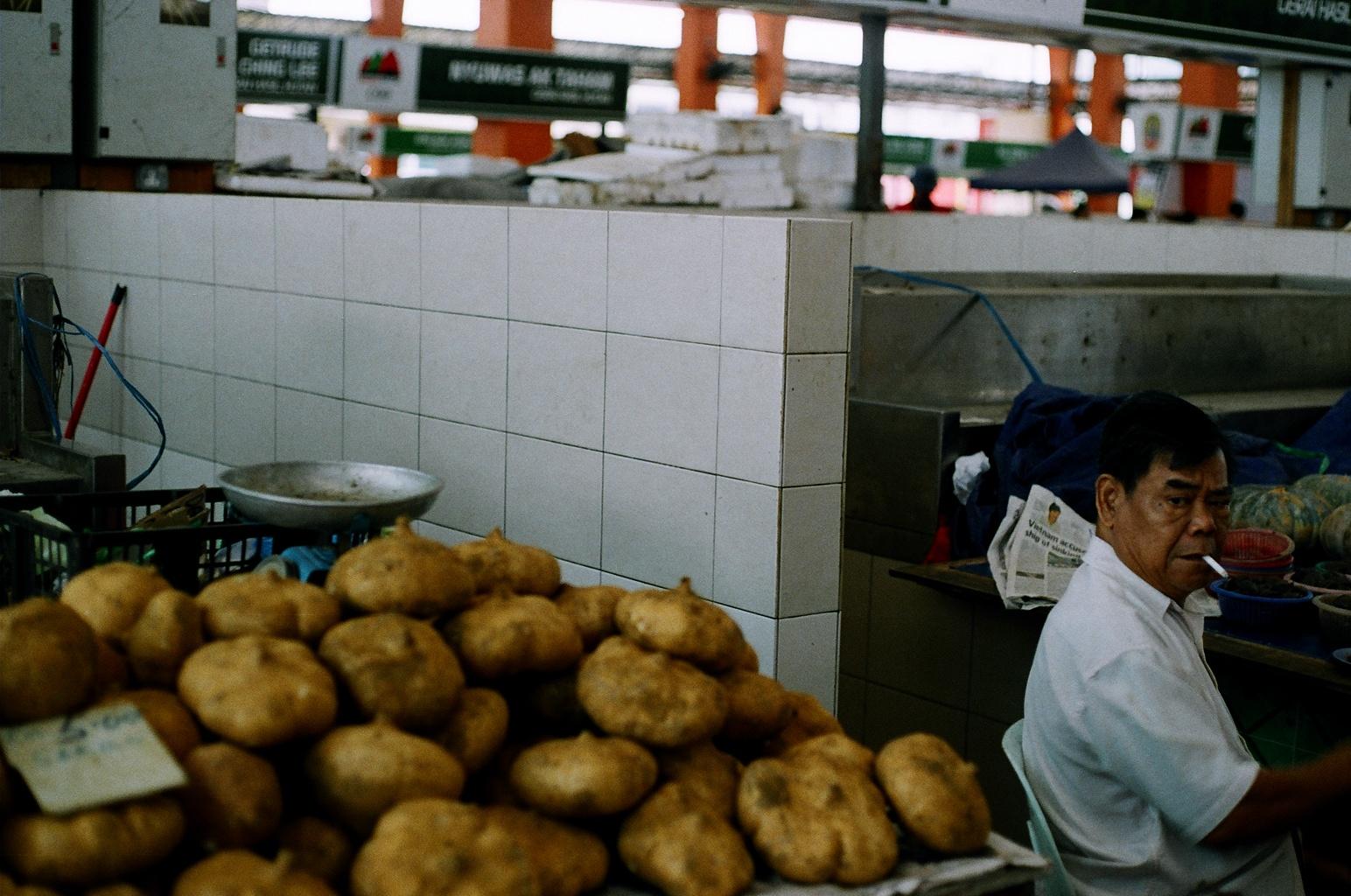 Market, Kuching. NH