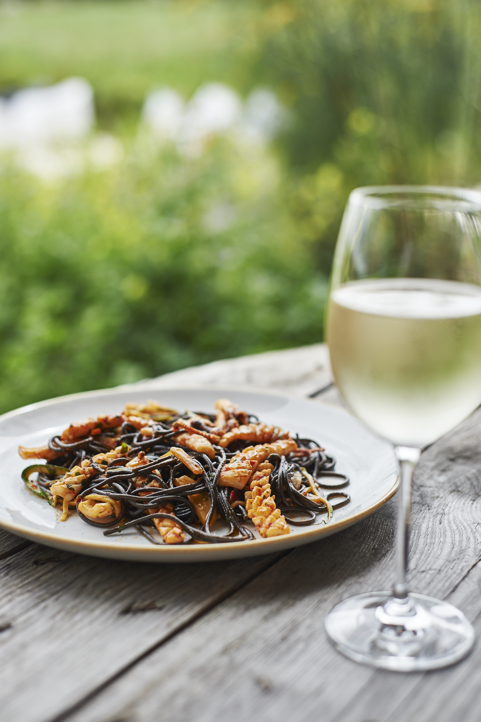 Pasta and Wine at Trevibban Mill & Appleton's at the Vineyard
