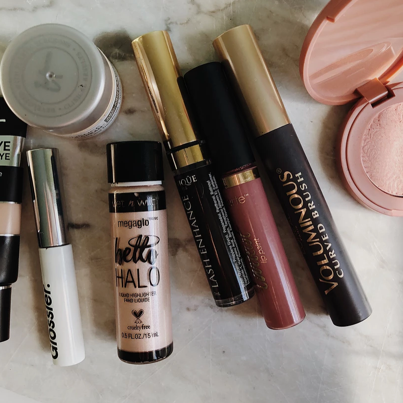 - current makeup routine