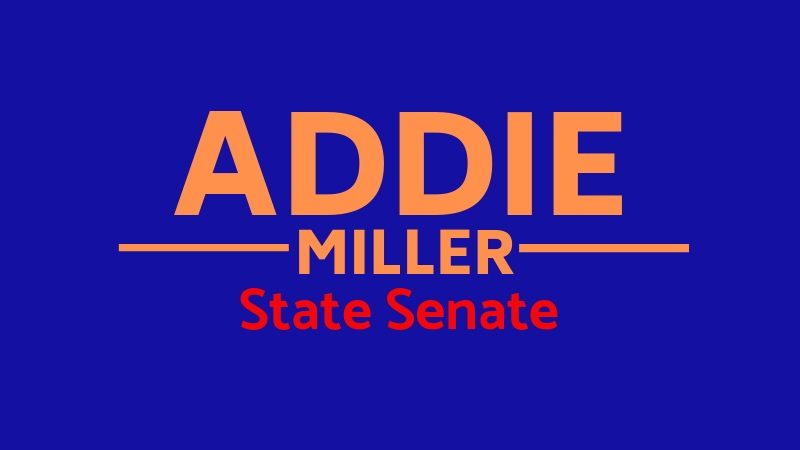 Addie Miller for Minnesota State Sentate