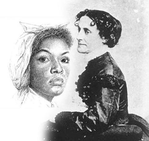 Mary Bowser and Ellie Bond