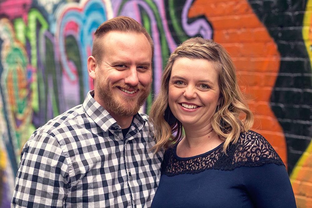 Matt and Sarah Barnes -