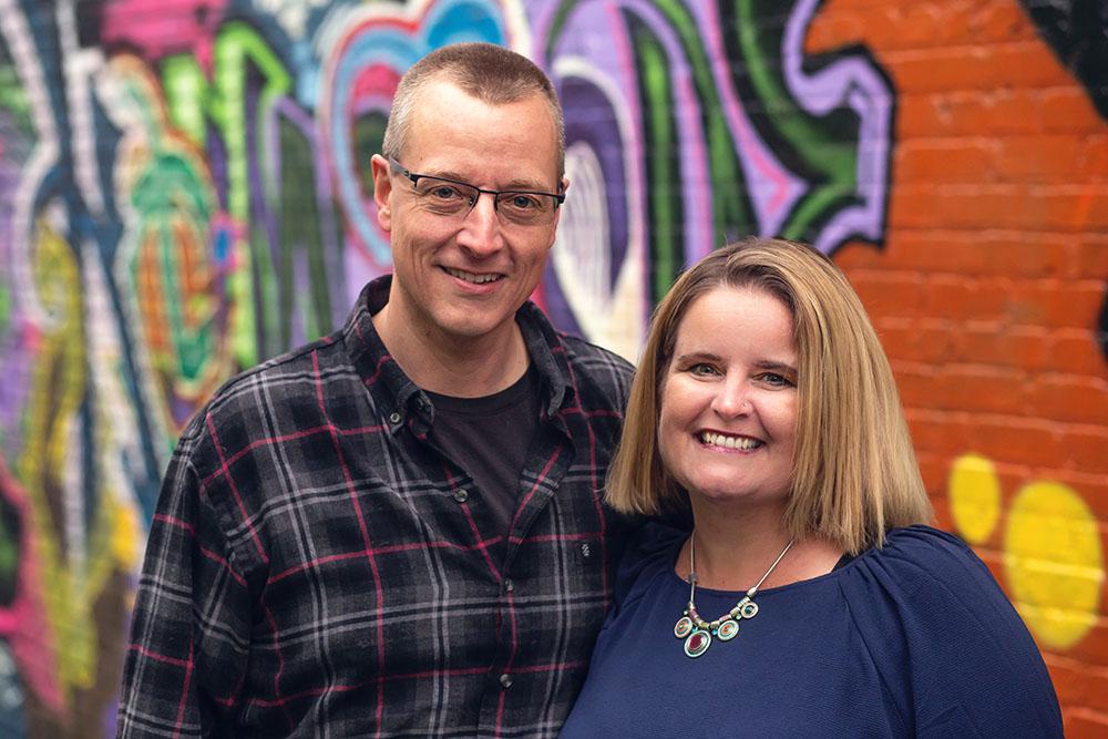 Rob and Michelle Wegner -