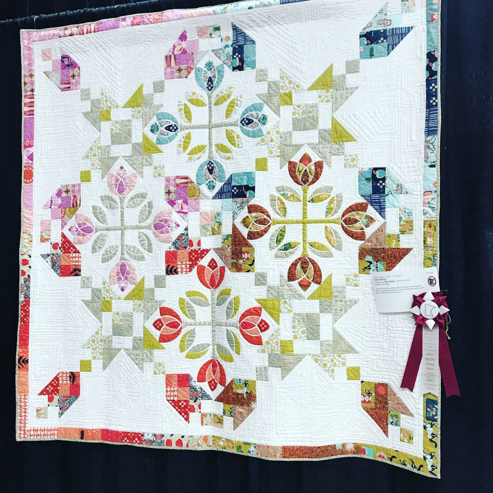 Dutch Darlings won second place at the MN Quilters Show