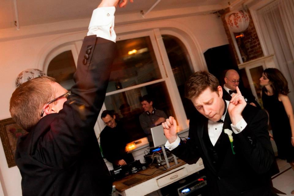 Newlyweds Nick Kurczewski and Matt Rosenstein (Kurczewski/Rosenstein wedding)