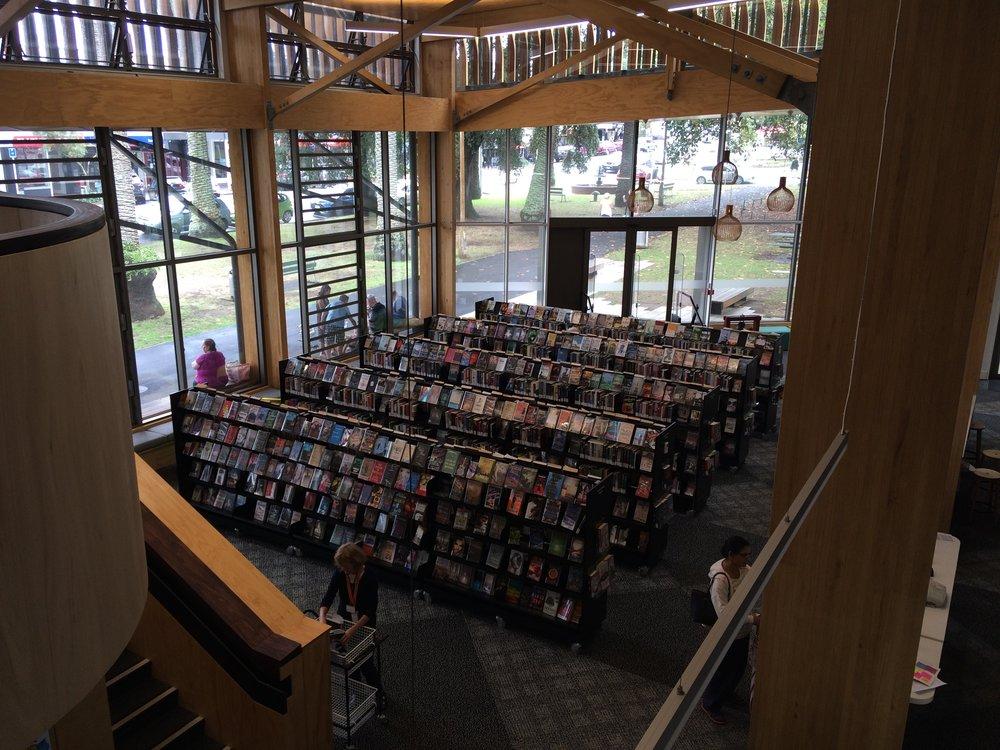 AA Devonport Public Library shelving.JPG