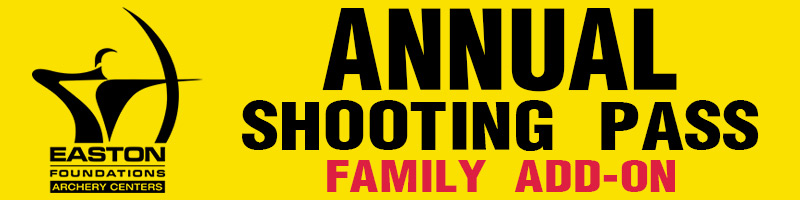 """$180 - + Price is Per Each Additional Family Member*+ Open Shooting Only+ Unlimited Indoor Range Use (Tues.-Sat. 11AM-8PM)+ Unlimited Outdoor Range Use (Tues.-Sat. 11AM-8PM)+ Six (6) Guest Day Passes (Includes Archery Equipment)+ Workshop Access (Includes Training)* Please note: The Easton Salt Lake Archery Center defines """"Family"""" as a spouse and immediate family members only up to 18 years of age and living at the same address"""