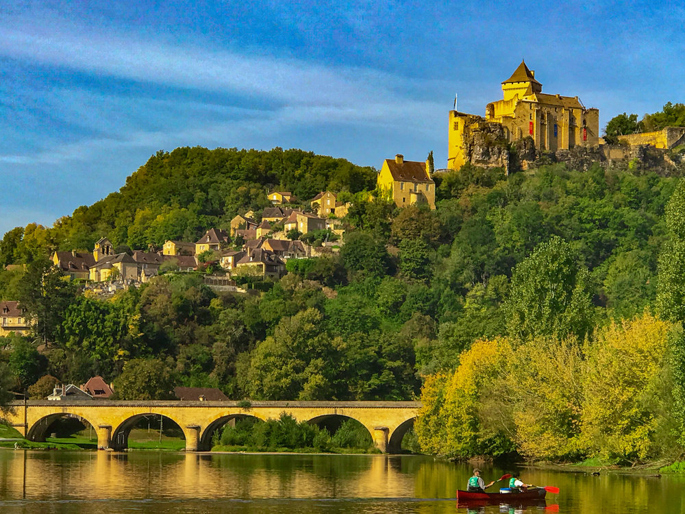Castelnaud from the Dordogne River