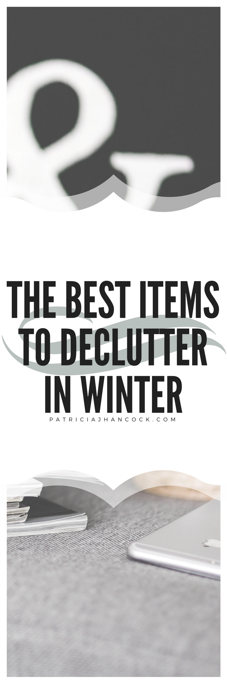 A helpful guide on what items are the best to organize and declutter while you're inside for the winter. No need to get on your hats and coats, we're going to declutter inside our comfort and warmth of our home today! Get on your comfiest of pants and get ready to declutter these important items in your home.
