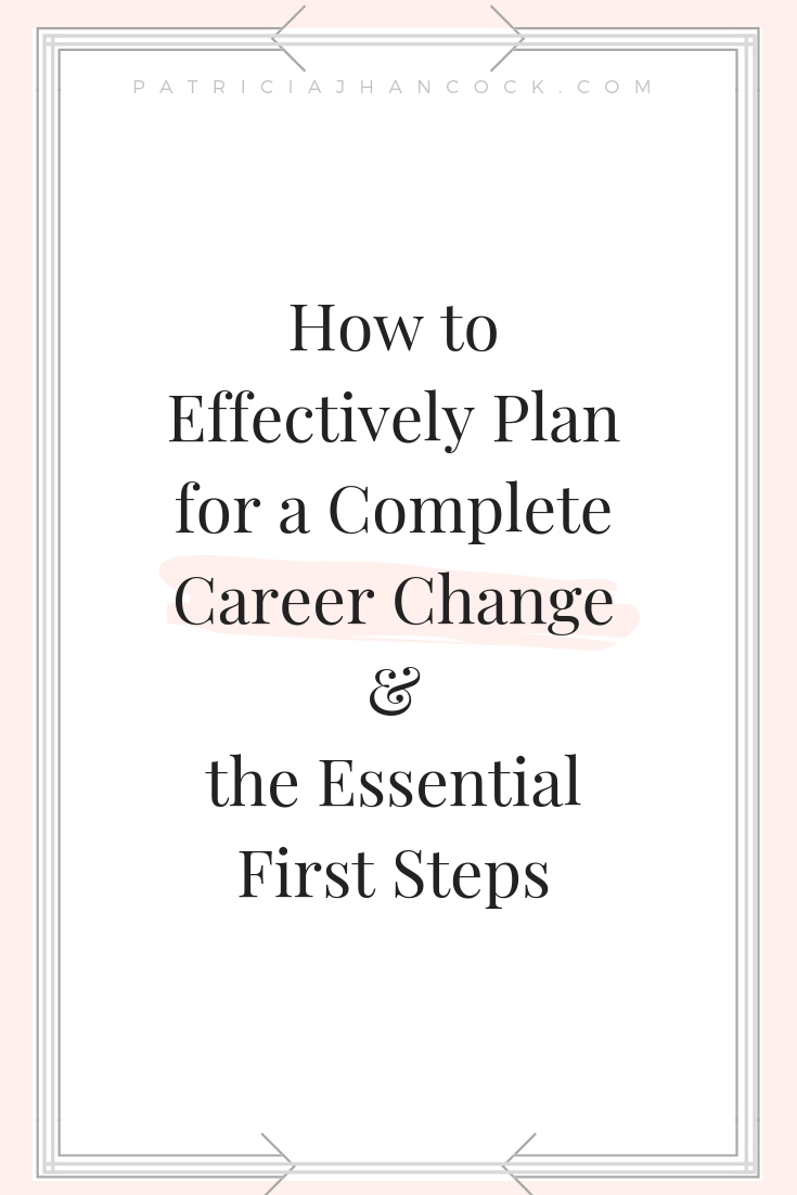 Learn the essential first steps you need to take to change or transition out of your career and onto a new journey! Here you will learn the basic steps to figure out what's the next step and how to get there. #career #personalgrowth #entrepreneur