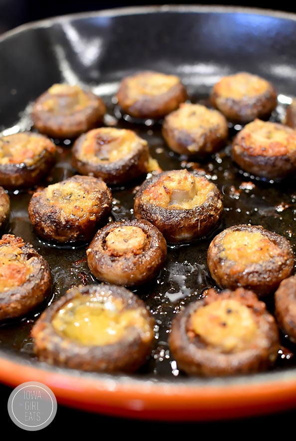 Garlic Butter Mushrooms -