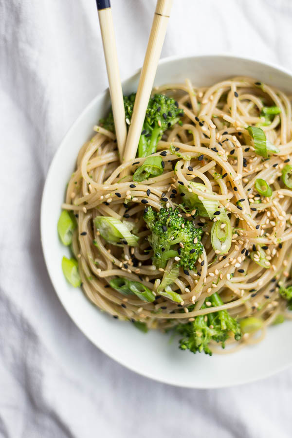 ginger garlic noodles -