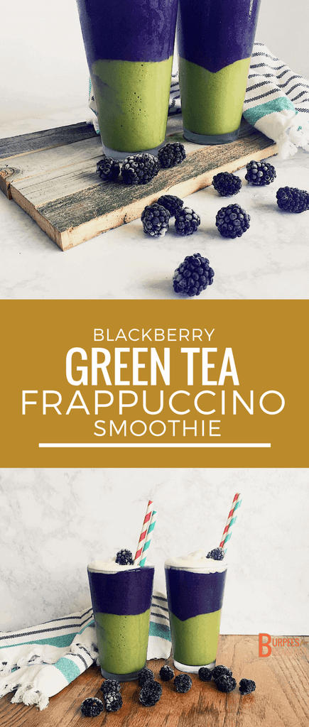 Blackberry Green Tea smoothie -