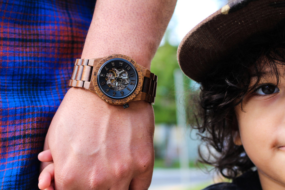 JORD- Koa Wood Watch