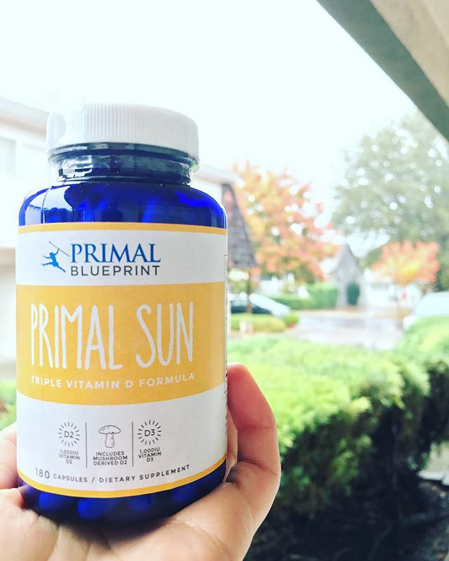 I am not big on supplements in general, I believe we should get nutrients through whole foods. That being said, there are some things we may need assistance with, & vitamin D is so recommended for the less than sunny months. I always had a hard time finding supplements that don't have questionable additives, but I can always rely on Primal Nutrition products! Check out Primal Sun for the cloudy time of year!