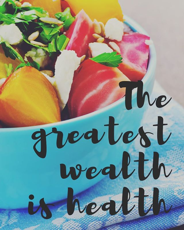 It's true what they say - you never know what you got till it's gone. Maybe it's time we start appreciating our health and work it keep it, instead of taking it for granted. Our quality of life starts with health - when we feel good we can do more!