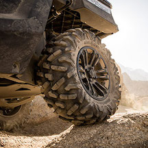 TIRES & WHEELS - Upgrade the wheels on your vehicle and get even better off-road performance.Click HERE for more information