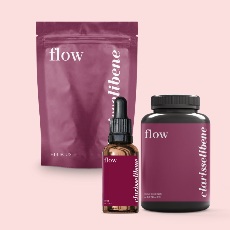 Flow - Sexcare System - Start your new sex care ritual with flow, filled with African plants and remedies to enhance pleasure.